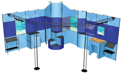 Custom Designed Exhibition Stands