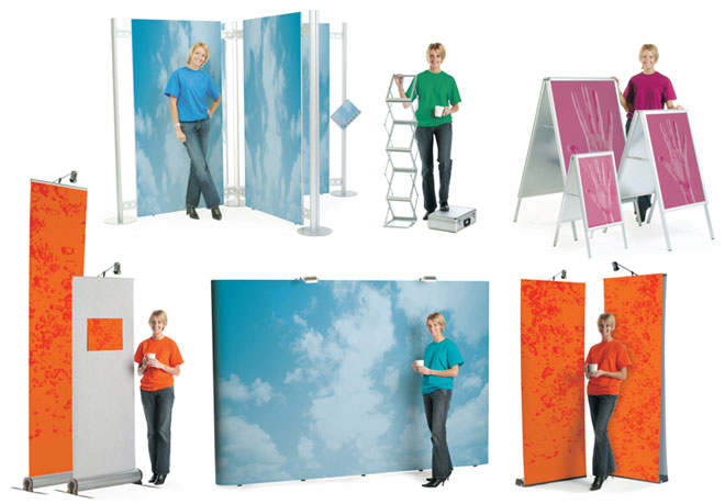 Portable Exhibition & Pop-up Stands